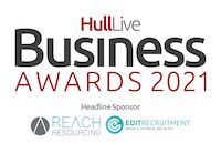 Hull Live, Humber Business, Hull Live Business Awards, Hull Live Logo, Sponsors Hull Live Business Awards, EDIT Recruitment, Reach Resourcing, Hull Business, Hull, Business Awards, Hull Daily Mail